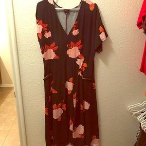 WWW Floral Dress